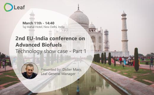 EU-India conference on Advanced Biofuels